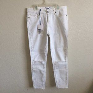 Paige White Torn Skinny Jeans Size 29 NWT